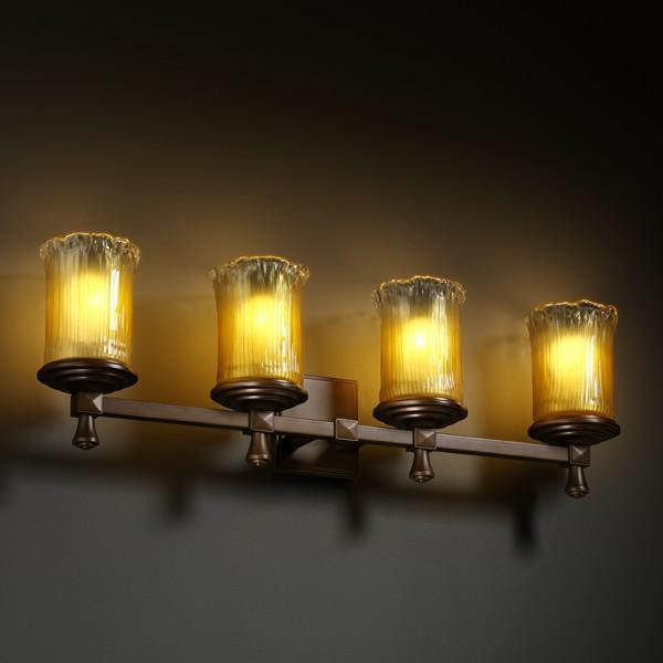 Deco 4-Light Bath Bar : CT3PH | Foresight Lighting & Design